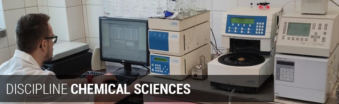 DISCIPLINE CHEMICAL SCIENCES